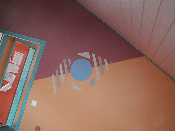 Motifs fresques a yerly artisan en peintures for Motif sur mur